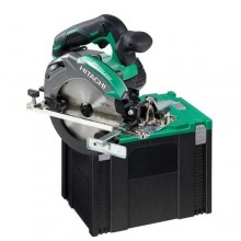 Hitachi 18V accu cirkelzaagmachine C18DBALW4S